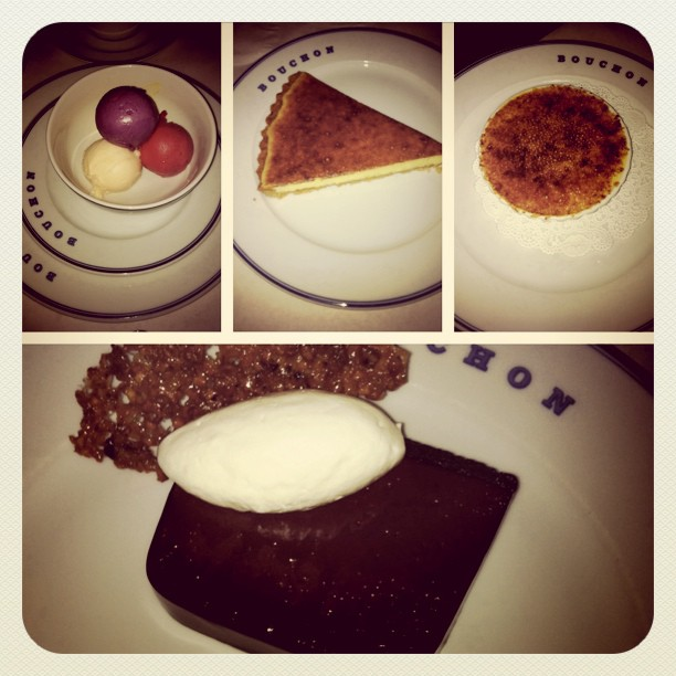 Bouchon dessert