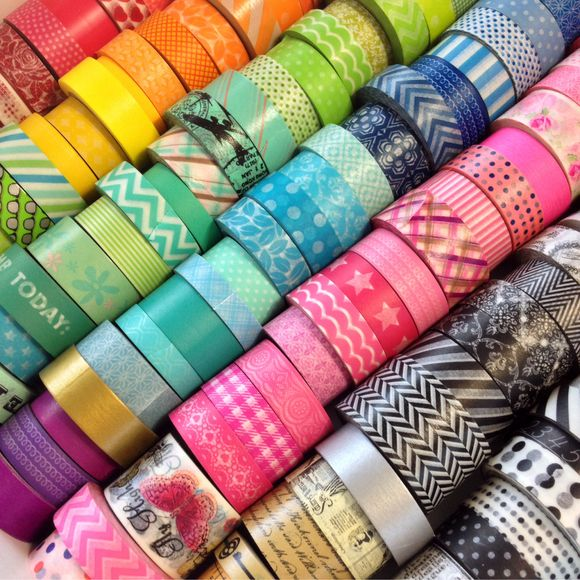the wonderful world of washi.