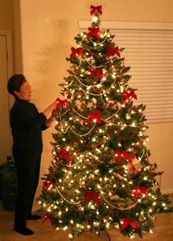 Ma_and_tree